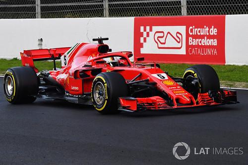 Vettel ja 2018 Ferrari