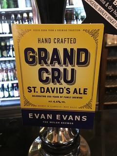 Evan Evans, Grand Cru, Wales