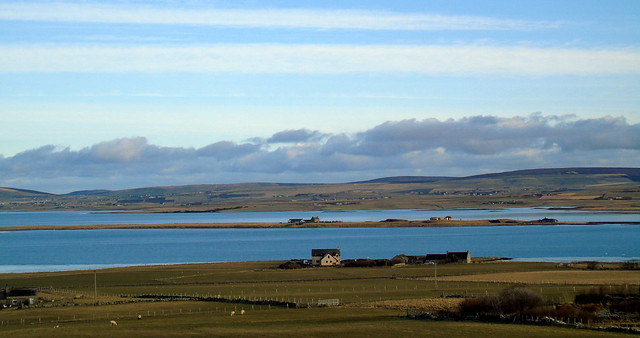 Stenness and Harray lochs