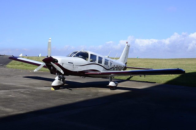G-BHGO PA-32 Cherokee Six 260