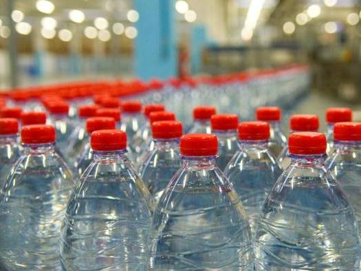 salmonella nell'acqua minerale