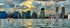 Marina Sands Pool Skyline
