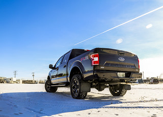 T149 - 2018 Ford F-150 *LEVELLED TRUCK WITH WHEELS, TIRES, EXHAUST*