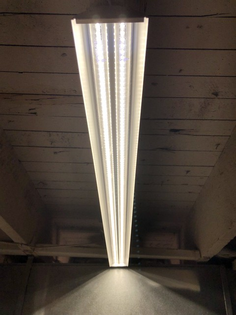 A Quick Easy And Very Effective Basement Led Lighting Upgrade Old Town Home