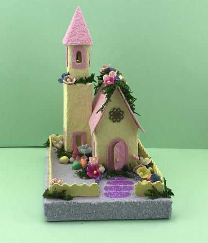 Easter Putz Church
