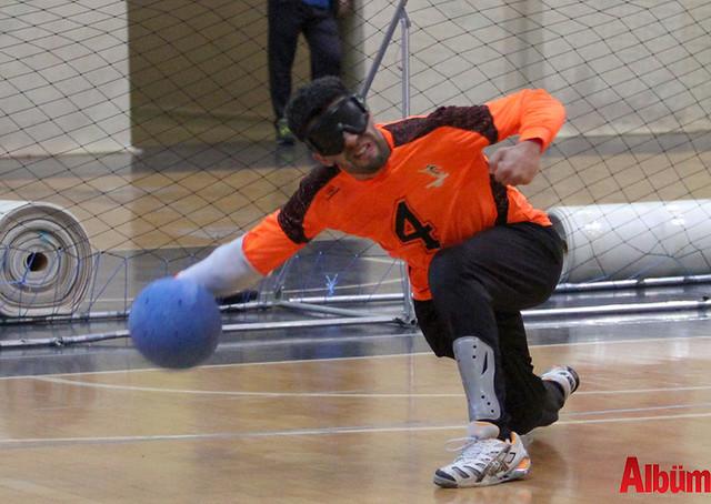 Alanya'da Goalball Şampiyonası başladı