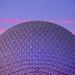 Spaceship Earth at Sunset by orlandobrothas