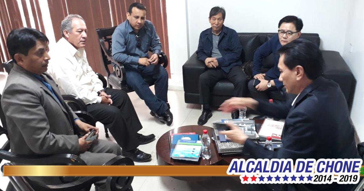 Alcaldía e inversionistas coreanos coordinan acciones para construcción de planta procesadora de desechos