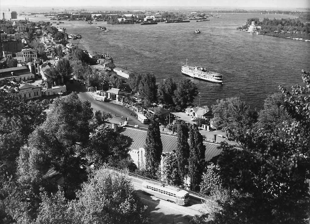 Панорама Днепра, 1955 год