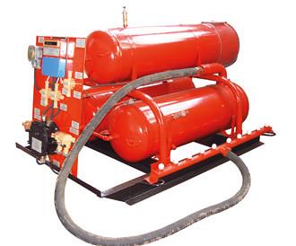 Установка автоматическая водяного пожаротушения рудничная УАВП -4Р