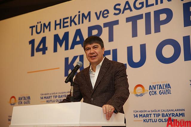 Antalya Büyükşehir Belediyesi Başkanı Menderes Türel