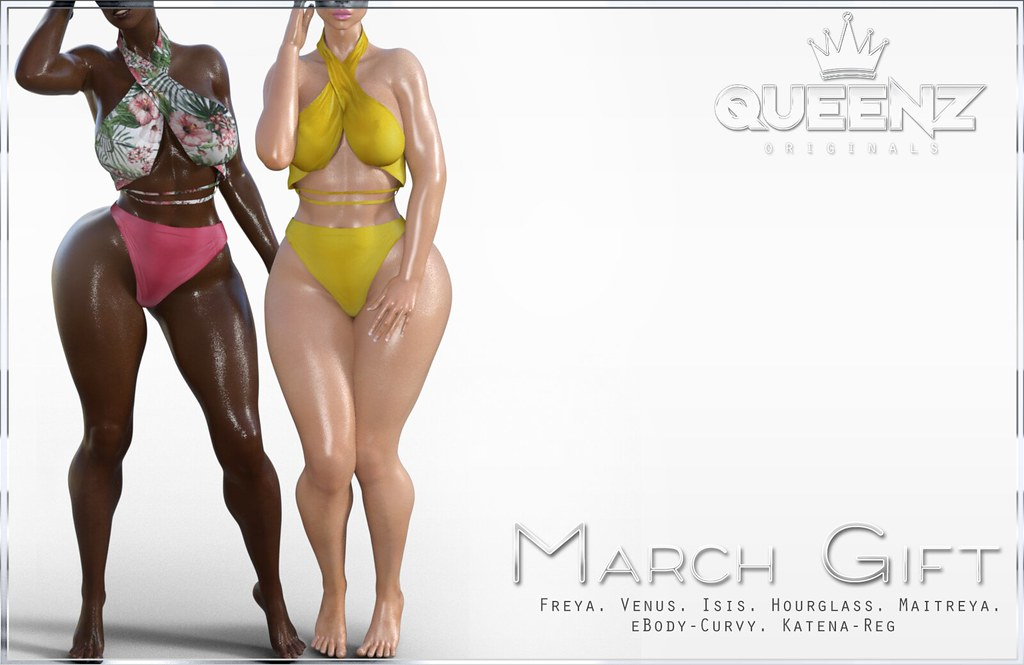QUEENZ | March Gift - TeleportHub.com Live!