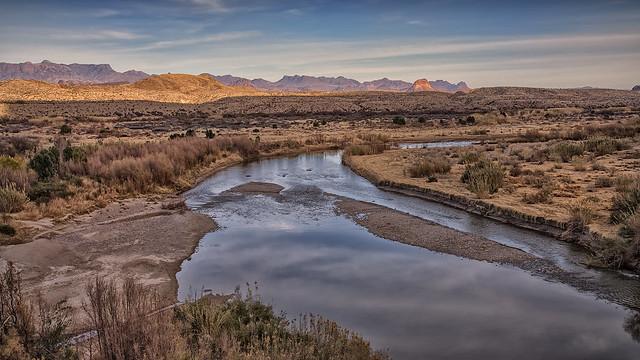 Terlingua Creek and the Rio Grande