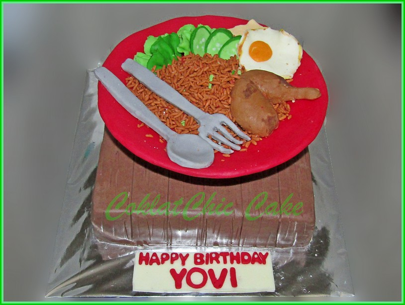 Cake Nasi Goreng YOVI 18 cm