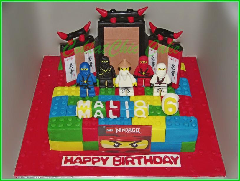Cake Ninjago MALIQ 24 cm