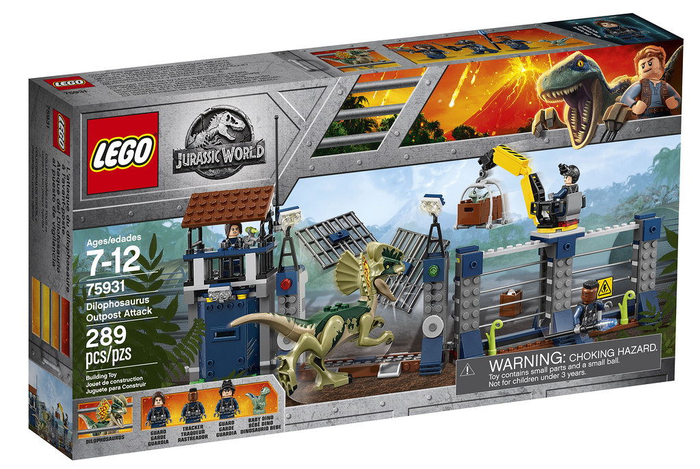 LEGO Jurassic World 75931 - Dilophosaurus Outpost Attack