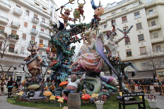 Falla Ciscar - Burriana
