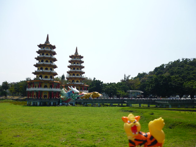 Photo:Arcanine in Zuoying, Kaohsiung 61 (Lotus Pond) By Kasadera
