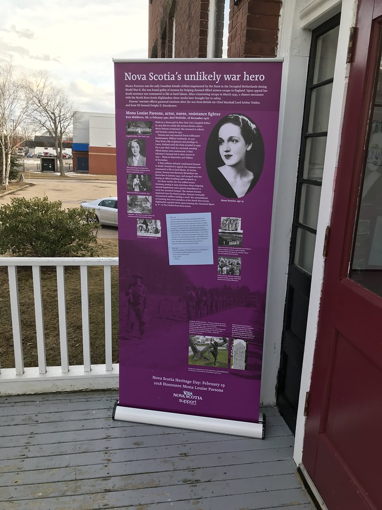 Mona Parsons, Nova Scotia's War Hero