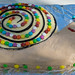 Snail birthday cake