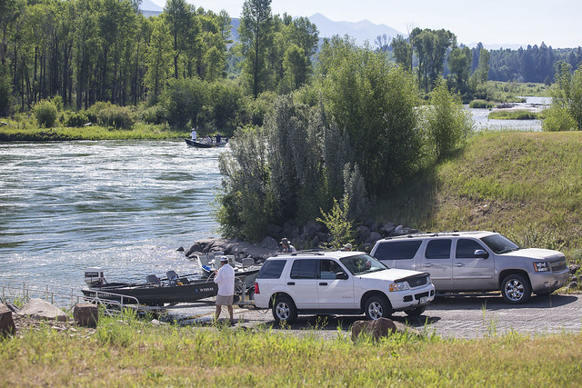 South Fork of the Snake River: Conant Boat Launch