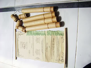 undangan bambu elegant