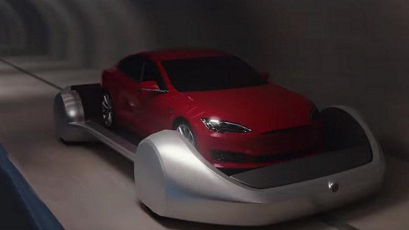 Elon Musk veut vous transporter à 200 kilomètres par heure