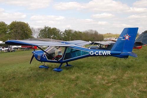 G-CEWR Aeroprakt A.22L [PFA 317A-14736] Popham 020509