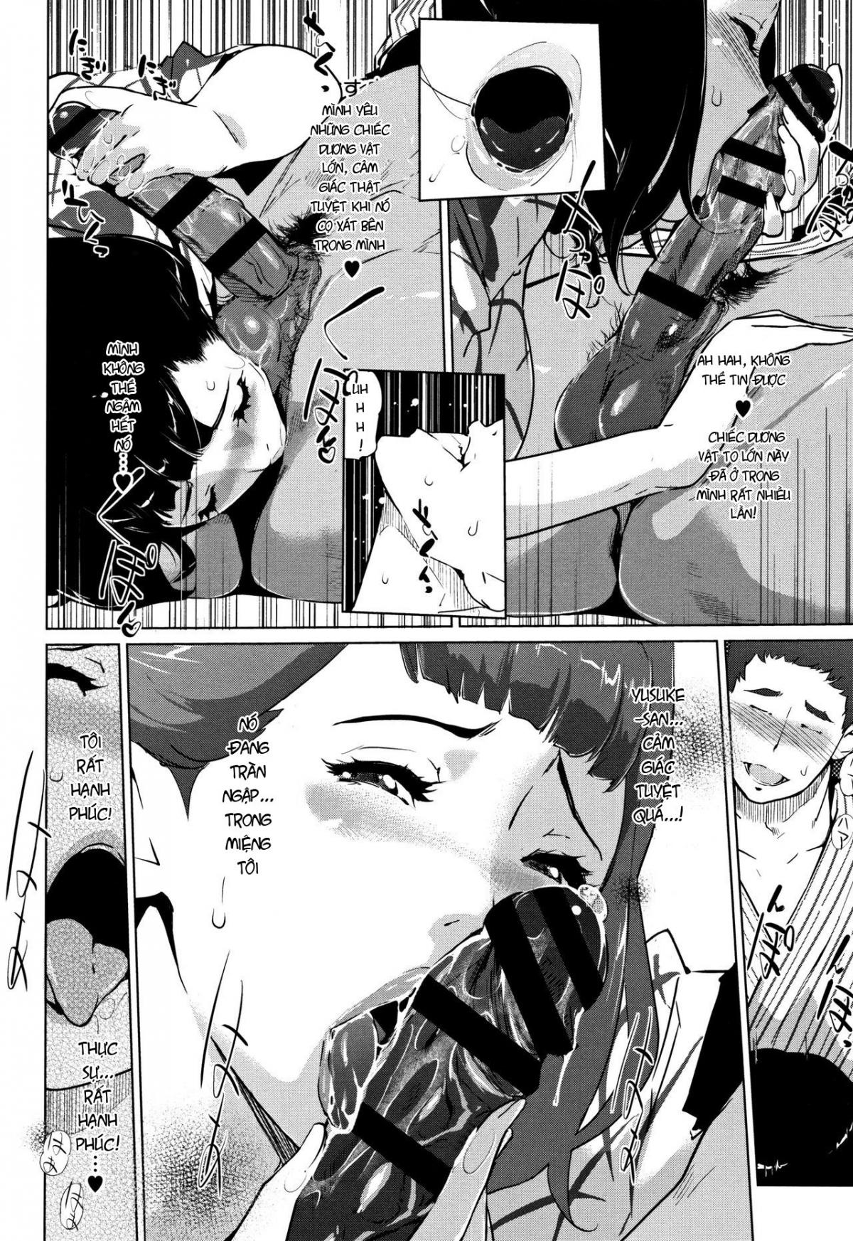 HentaiVN.net - Ảnh 6 - Shinjuiro no Zanzou - Pearl Grey Afterimage; Shinjuiro No Zanzou ~Kazoku Ga Neshizumatta Ato De~ - Chap 4