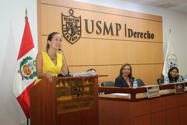 """Instituto de Derechos Humanos y Desarrollo de la USMP desarrolló  la Conferencia """"Mujer del Siglo XXI: Retos para una real igualdad de oportunidades"""""""