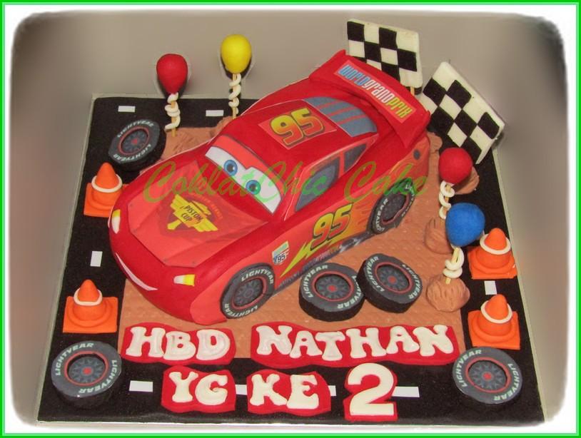Cake McQueen NATHAN 15 cm