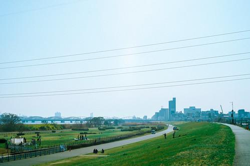 大阪 淀川 Osaka Yodogawa River