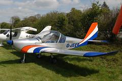 G-JEEP Evektor EV-97A [2001-1154] Popham 020509