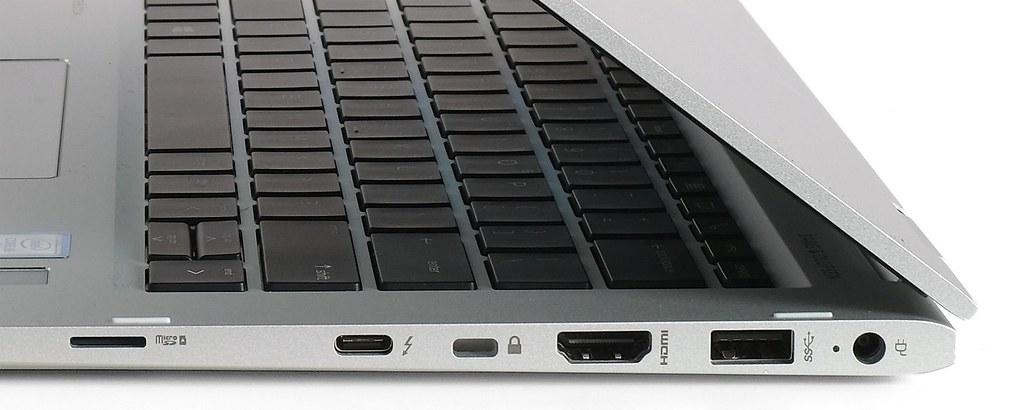 Các cổng kết nối cạnh phải - HP Elitebook X360 1030 G2
