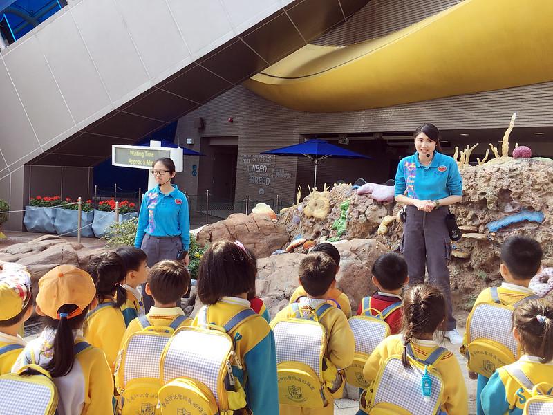 香港海洋公園學院 – 微小生物班學習活動-愛級(K3)