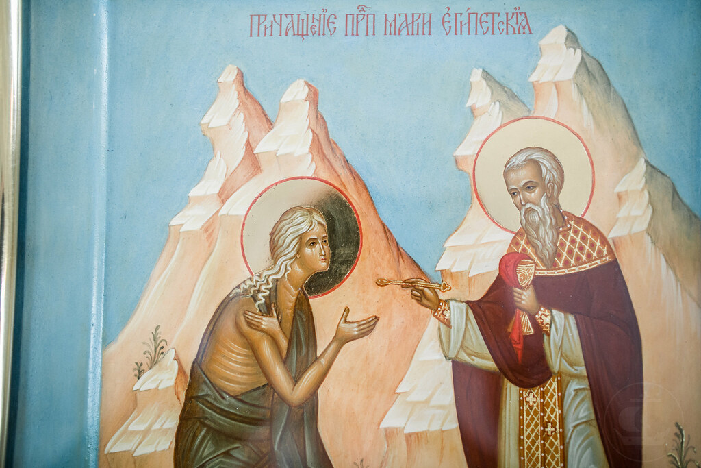 25 марта 2018, Неделя 5-я Великого поста. Прп. Марии Египетской / 25 March 2018, 5th Sunday of Great Lent. Commemoration of St. Mary of Egypt