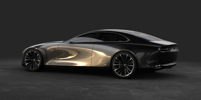 圖一:MAZDA VISION COUPE概念車獲頒日內瓦「年度風雲概念車」