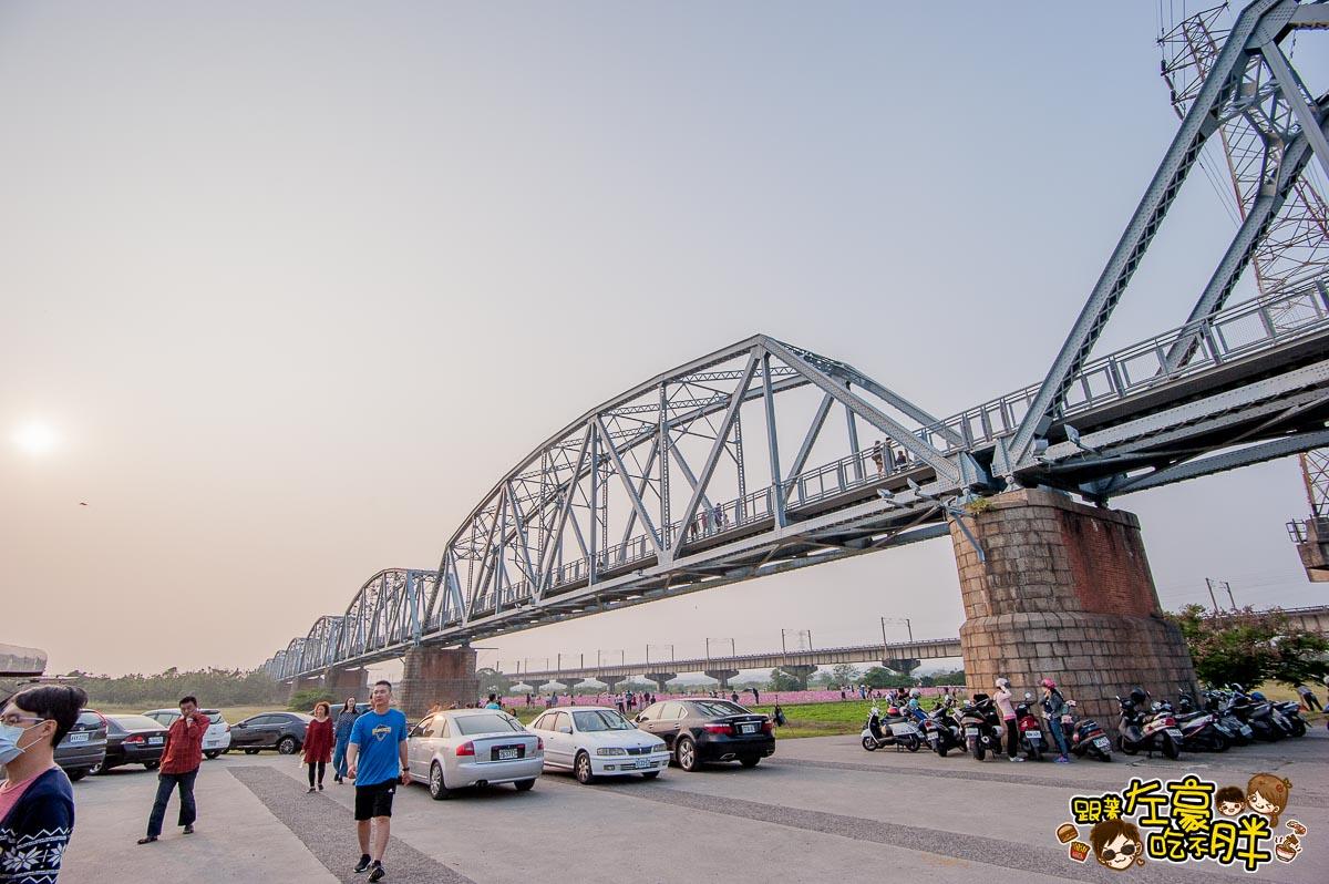 舊鐵橋(屏東端)花海-17