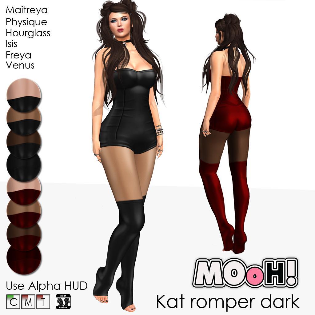 Kat romper dark