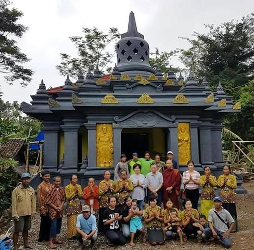 Renovation at Gili Village Temple(Courtesy of DEV)