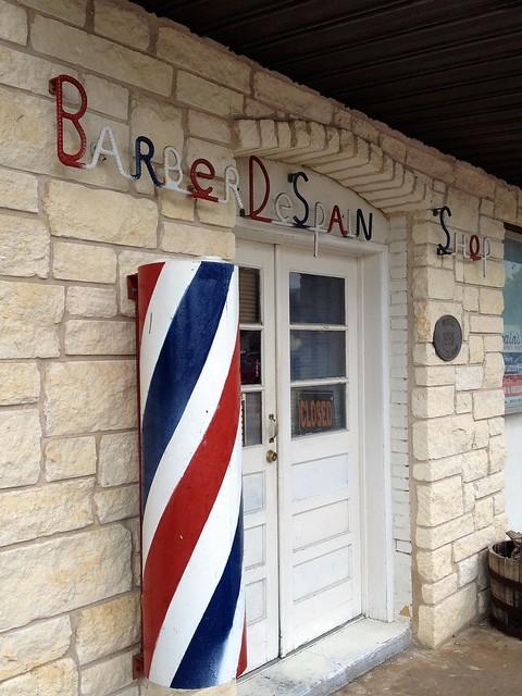 Barbershop in Marble Falls, Texas