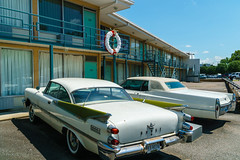 Lorraine Motel, Mulberry Street, Memphis, where Martin Luther King Jr was shot