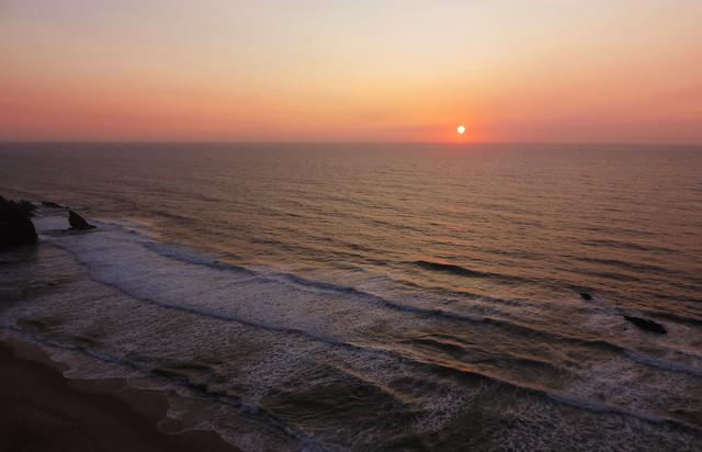 Portuguese sunsets: Praia da Adraga