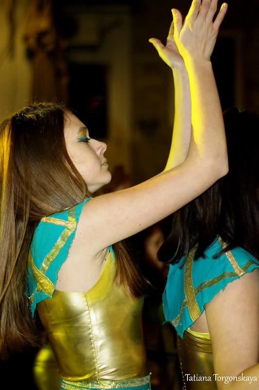 Выступление карнавальной группы из Шабаца