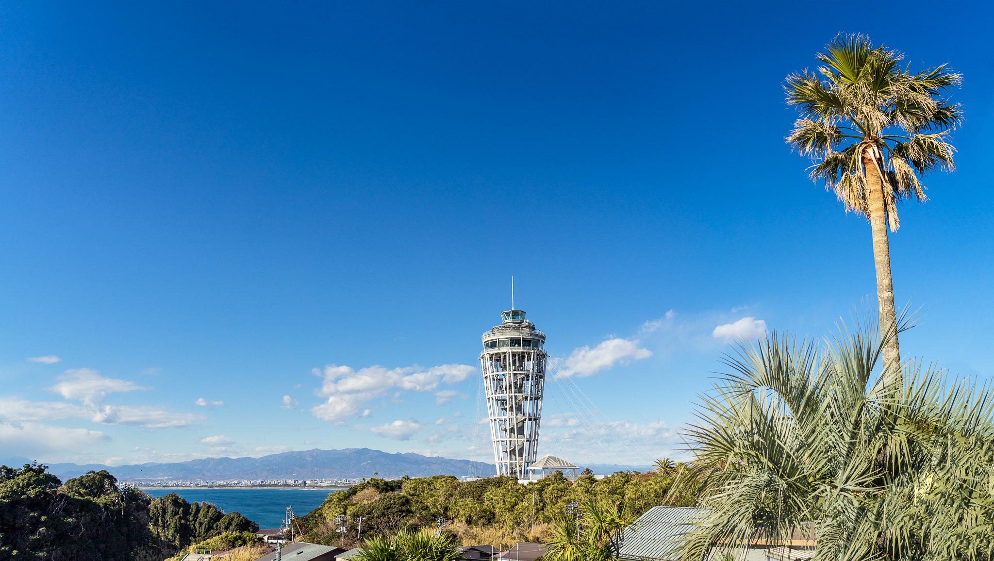 Enoshima Island Seacandle
