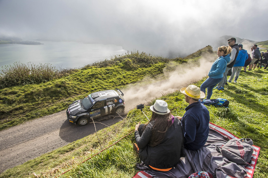 11 INGRAM Chris (gbr), WHITTOCK Ross (gbr) , TOKSPORT WRT, SKODA FABIA R5, action during the 2018 European Rally Championship ERC Azores rally,  from March 22 to 24, at Ponta Delgada Portugal - Photo Gregory Lenormand / DPPI
