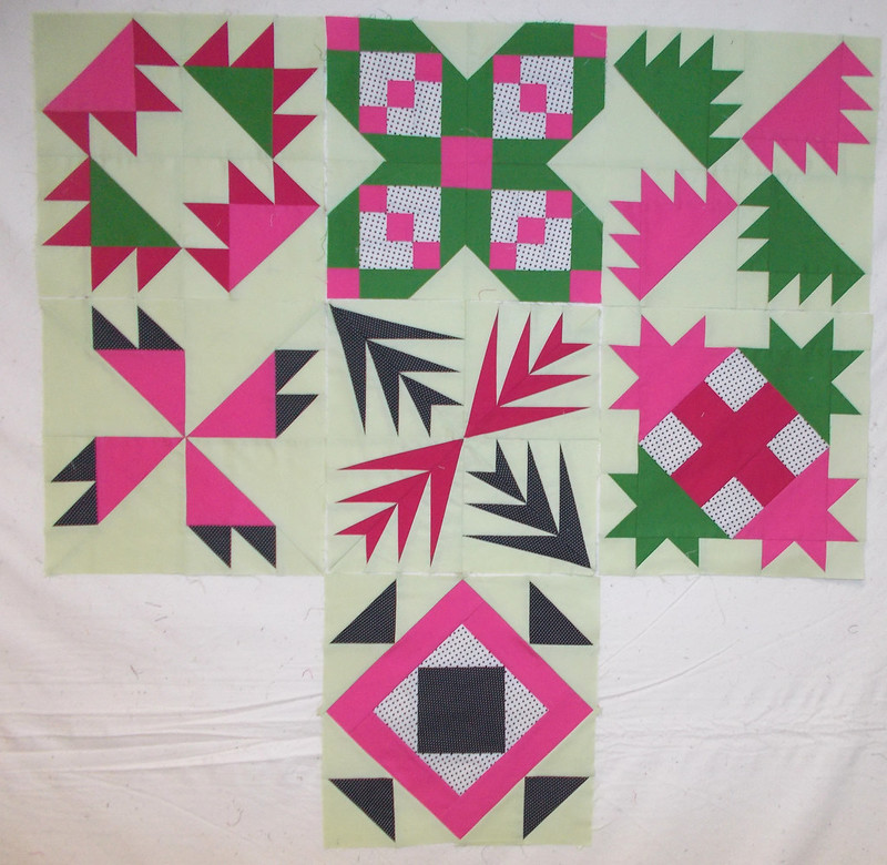 Family Botanicals BOM Take 2 by Sandi Walton at Piecemeal Quilts