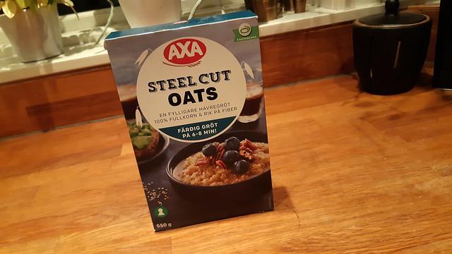 Steel cut oats eller klippt havre