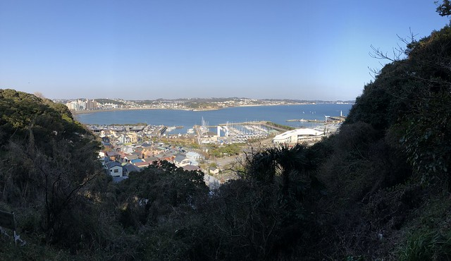 Ports and coast panorama