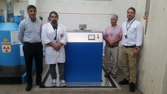 Irradiador experimental Noratom,